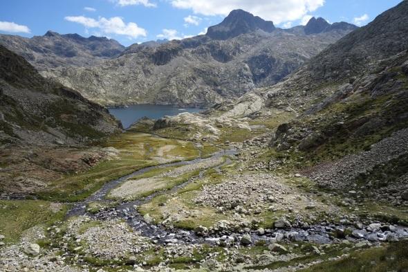Land of granite lakes