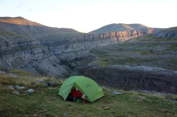 Tent at Goriz