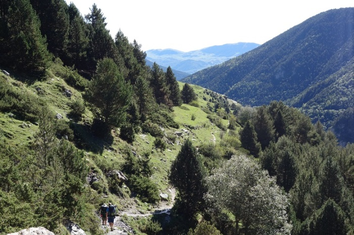 Trail to nuria